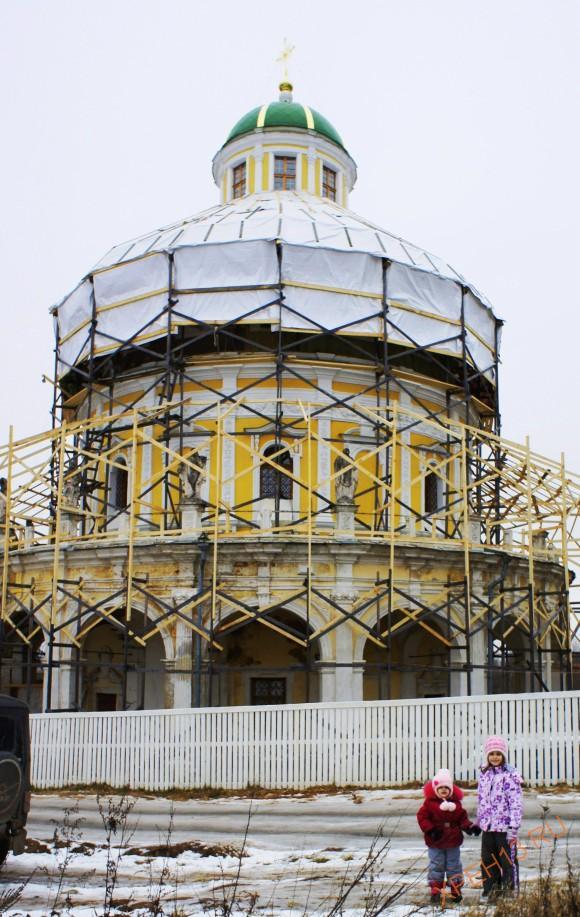 Церковь в Подмоклово 3 года спустя.