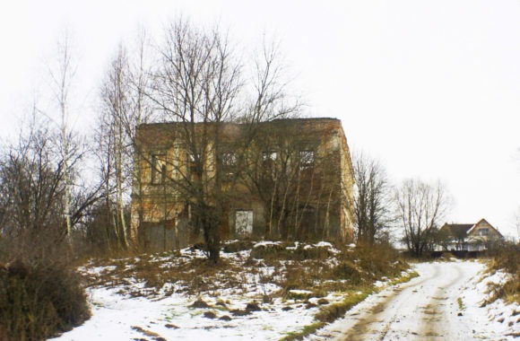 Руины усадьбы.