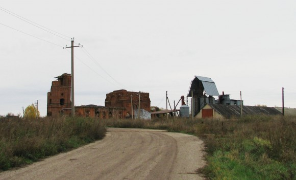 Рязанская обл. Захаровский р-н.  с. Троицкое.  Осень 2012.