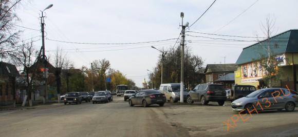 Рязанская область, г. Касимов. Улицы Касимова. Осень 2012.