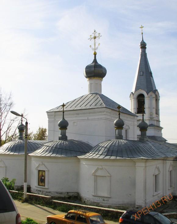 Рязанская область, г. Касимов. Церковь Благовещения Пресвятой Богородицы. Осень 2012