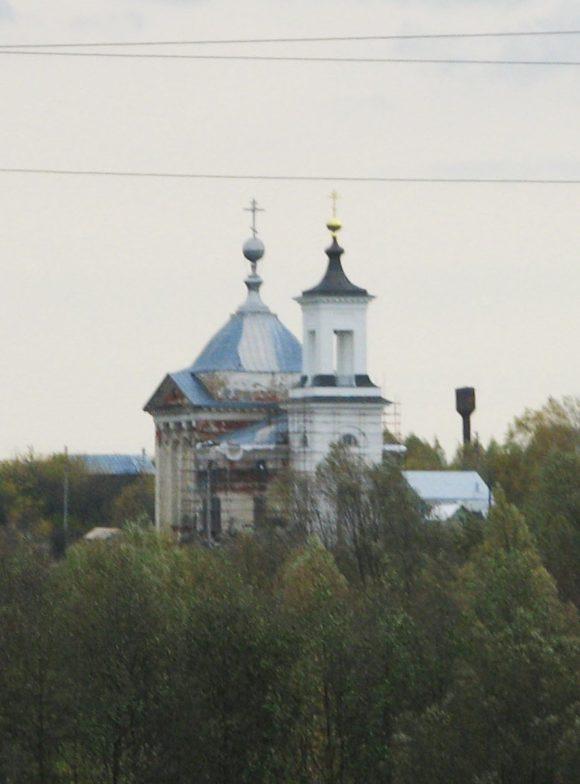 Рязанская обл., Касимовский р-н, с. Ермолово.  Осень 2012.
