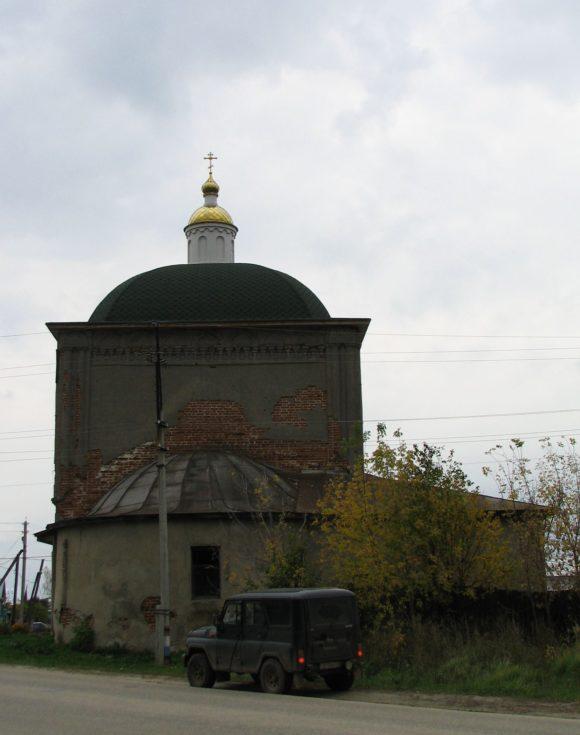 Пос. Ела́тьма Касимовский район Рязанской области. Осень 2012.