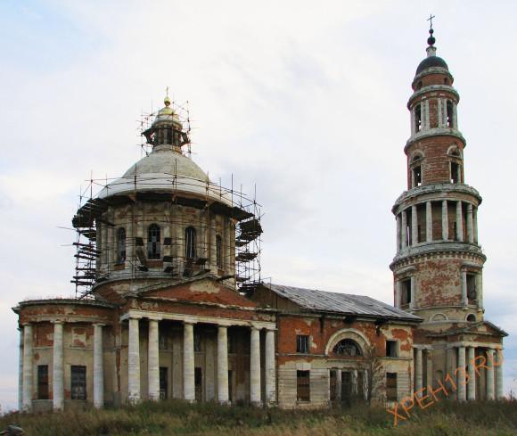 пос. Перевлес, Старожиловский район, Рязанская область. Осень 2012.