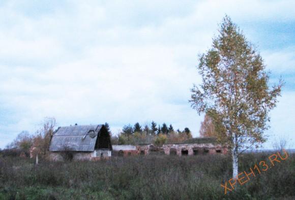 с. Коленцы Старожиловский район Рязанской области. Осень 2012.
