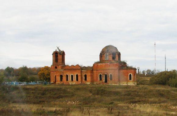 Рязанская область,  Пронский р-н, д. Абакумово. Осень 2012