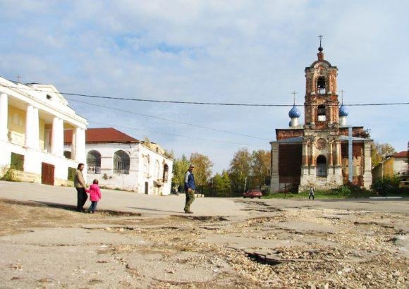 Рязанская область, г. Касимов. Успенская церковь. Осень 2012.
