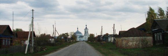 Пос. Которово, Касимовский район, Рязанская область. Осень 2012.