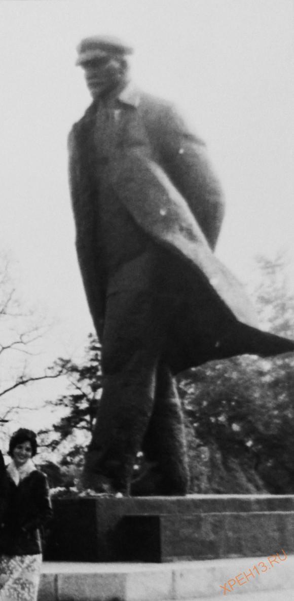 Московская область, Ленинский район, Ленинские горки. Осень 1981.