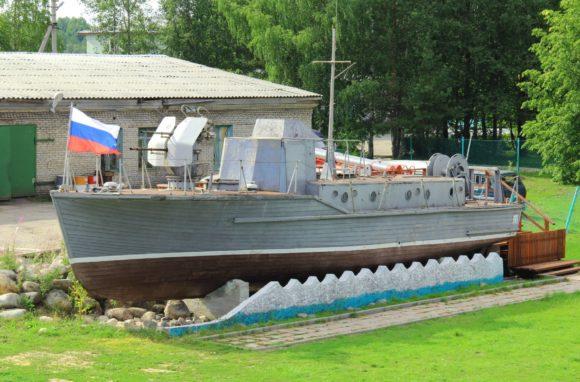 Вологодская область, г. Вытегра, Подводная лодка Б-440. Лето 2013.