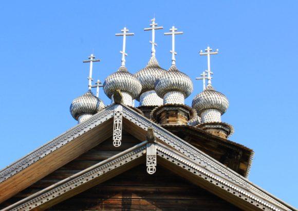 Респ. Карелия, Медвежьегорский район, Кижи. Лето 2013.