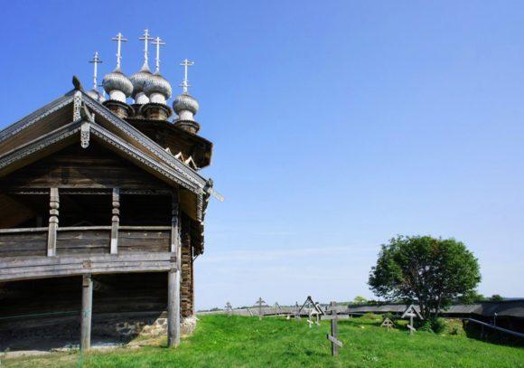 Остатки старообрядческого кладбища в пределах ограды