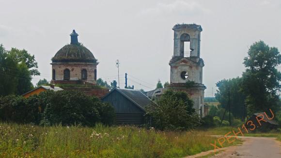 Церковь Троицы Живоначальной, между 1819 и 1830 гг.