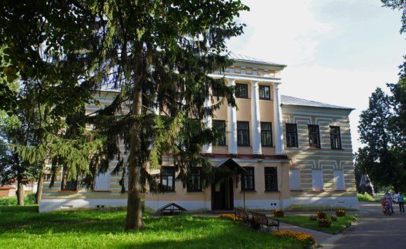 Здание бывшей Государственной думы.
