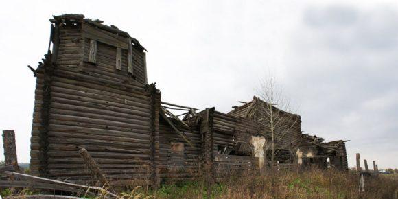 Владимирская область, Судогодский район, с. Языково. Осень 2013.