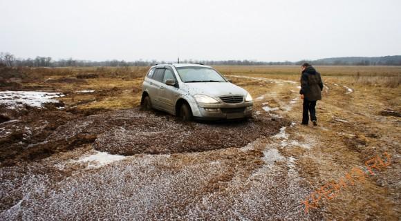 Калужская область, Жуковский район. Зима 2014.