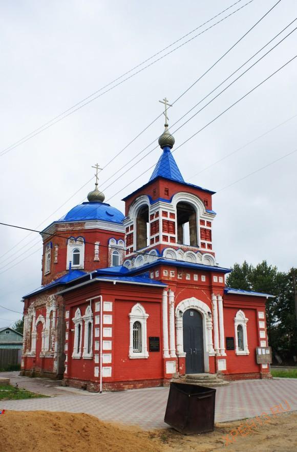 Храм Покрова Богородицы.