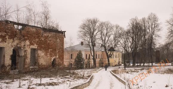 Тульская область, Ясногорский район, с. Красино-Убережное. Весна 2014.