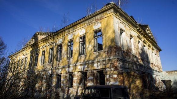 Московская область, Чеховский район, с. Молоди. Весна 2014.