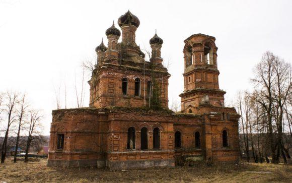 Старообрядческая церковь Николая Чудотворца в Поречье 1907-1911.