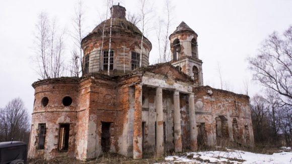 Церковь Николая Чудотворца села Башмаковка (Башмаково), построенная не позже 1800-го года.