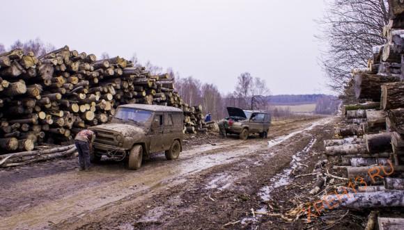 Калужская область, Малоярославский район. Весна 2014.