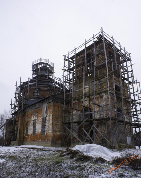 Церковь Рождества Пресвятой Богородицы села Тульчино.