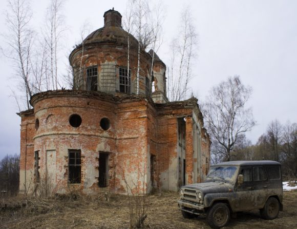 Калужская область, Малоярославецкий р-н, д. Башмаково. Весна 2014.
