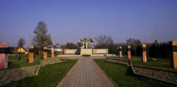 Мемориал ВОВ в Мосальске.