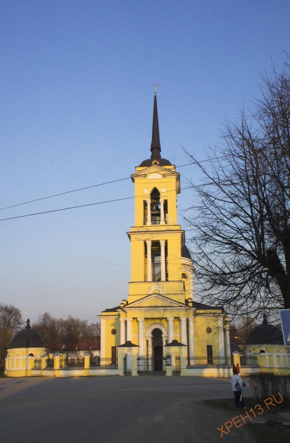 Калужская область, г. Мосальск. Весна 2014.