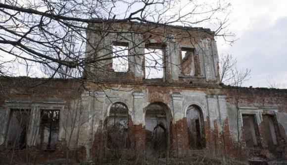 Барятино Мещовский район Калужская область. Весна 2014.