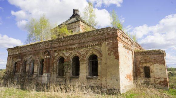 Тверская обл., Торжокский р-н, с. Кунганово. Весна 2014.