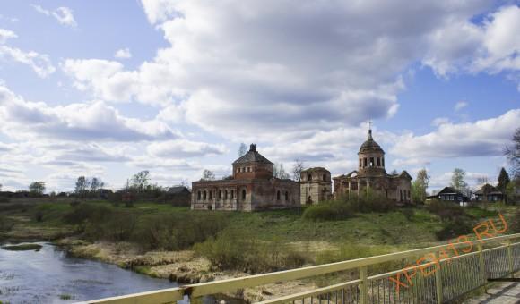 Храмовый комплекс в Курганово.