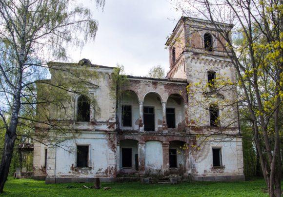 Усадьба Ладьино. Тверская область, Торжокский р-н, Ладьино. Весна 2014.