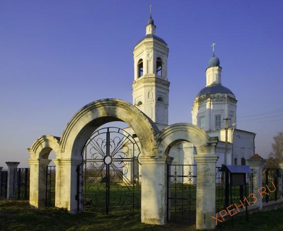 Калужская область, Сухиничский район, с. Брынь. Весна 2014.