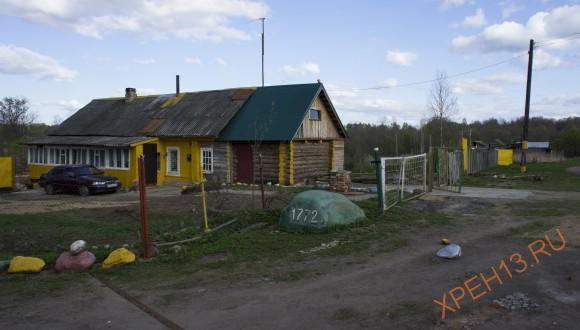д. Млевичи Торжокского района Тверской области. Весна 2014.
