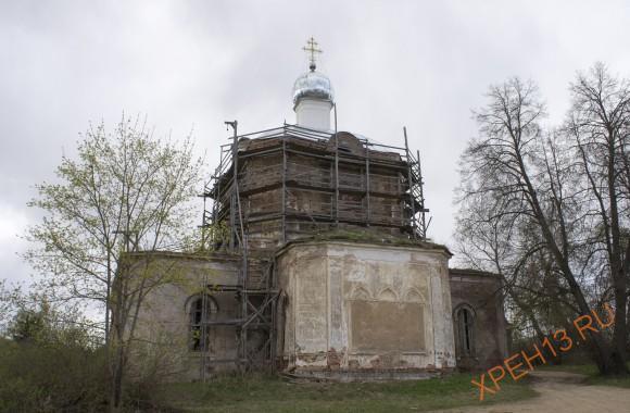 Тверская область, Торжокский район, с. Страшевичи. Весна 2014.