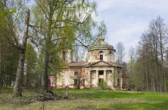 Тверская область, Старицкий район, с. Братково. Весна 2014.
