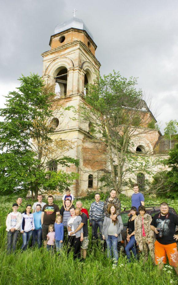 Калужская область, Малоярославецкий район, село Боболи. Лето 2014.