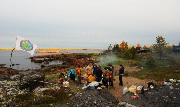 Берег Белого моря.
