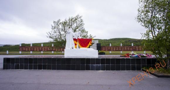 Мемориал защитникам Заполярья.