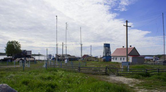 Морская гидрометеорологическая станция (МГ-2) Соловки.