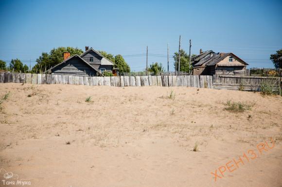 Кольский полуостров. Мурманская область, Терский район, с. Кузомень . Лето 2014.
