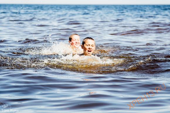 Ленинградская область, Подпорожский район, Онежское озеро. Лето 2014.