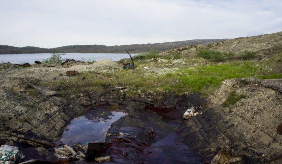Мурманская область, 12 км от г. Заполярный. Кольская сверхглубокая. Лето 2014.