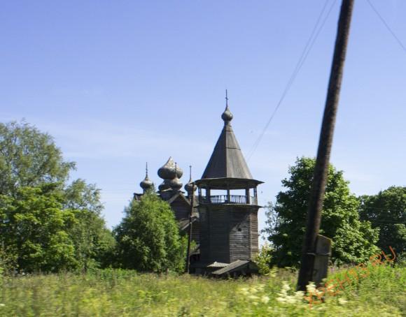 Ленинградская область, Подпорожский район, село Щелейки. Лето 2014.