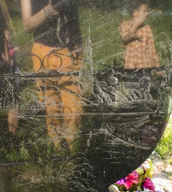 Тверская обл., Кашинский р-н, с. Новое Село (погост Успенский на Болоте). Лето 2014.