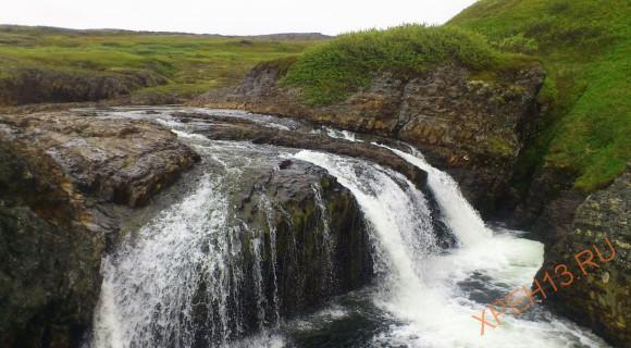 Самый северный водопад.