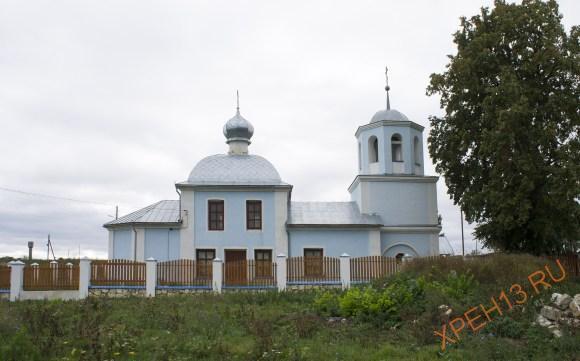 Московская обл., Зарайский р-н, с. Куково. Осень 2014.