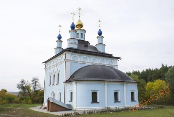 Тульская область, Белевский р-он, с. Жабынь. Осень 2014.